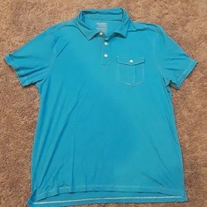 (3 for $20) NWOT old navy turquoise polo size XXL